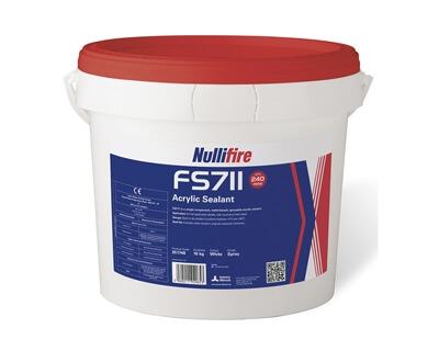 FS711 Yangın Dayanımlı Sprey Akrilik Sızdırmazlık Malzemesi