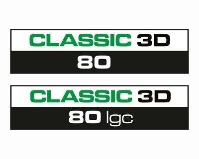 Giesse Classic 3D 80 Çift Açılım